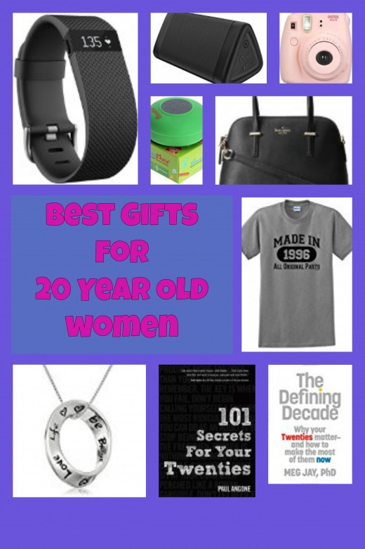 Best ideas about Birthday Gifts For 18 Year Old Female . Save or Pin Brilliant Birthday and Christmas Gift Ideas for 20 Year Now.