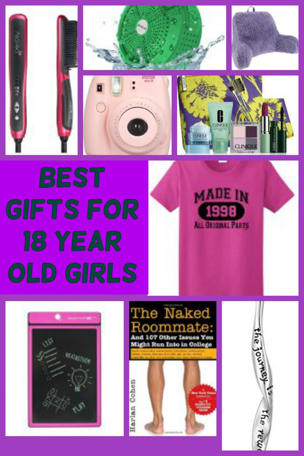 Best ideas about Birthday Gifts For 18 Year Old Female . Save or Pin Popular Birthday and Christmas Gift Ideas for 18 Year Old Now.