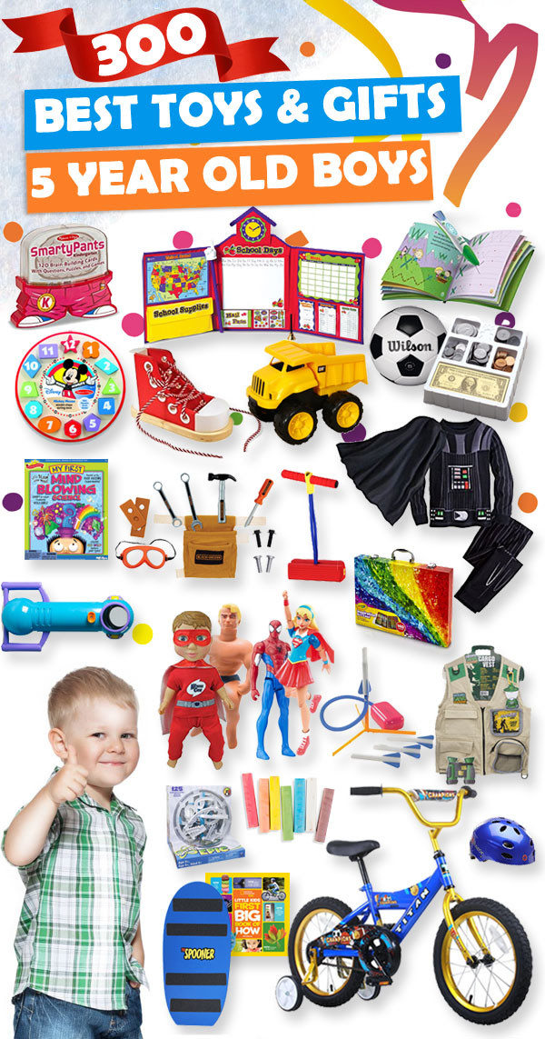 Best ideas about Birthday Gifts For 5 Year Old Boy . Save or Pin Best Gifts and Toys for 5 Year Old Boys 2018 Now.