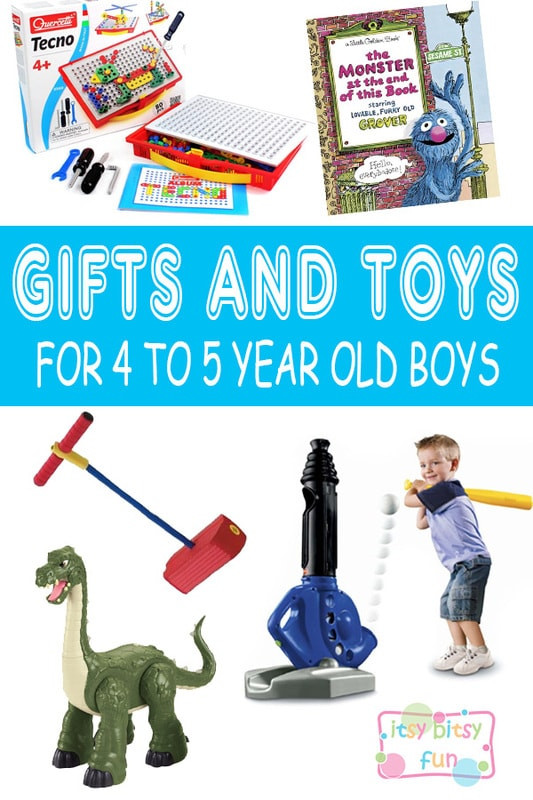Best ideas about Birthday Gifts For 5 Year Old Boy . Save or Pin Best Gifts for 4 Year Old Boys in 2017 Itsy Bitsy Fun Now.