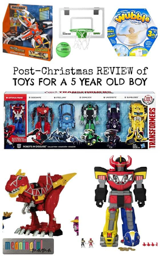 Best ideas about Birthday Gifts For 5 Year Old Boy . Save or Pin Post Christmas Review of Boy Toys Now.