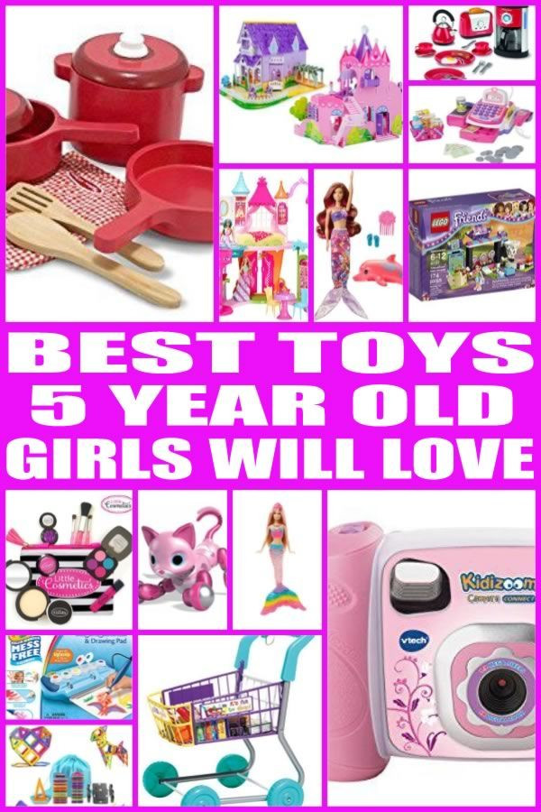 Best ideas about Birthday Gifts For 5 Yr Old Girl . Save or Pin Best Toys for 5 Year Old Girls Gift Guides Now.