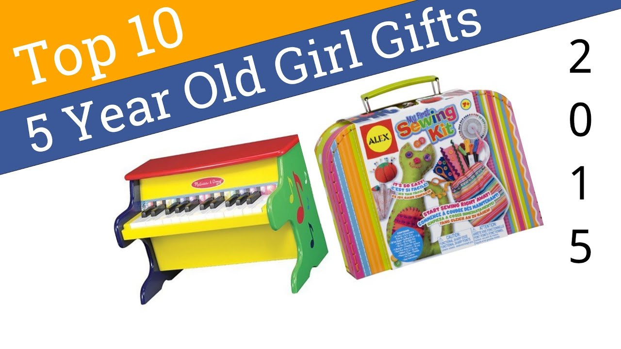 Best ideas about Birthday Gifts For 5 Yr Old Girl . Save or Pin 10 Best 5 Year Old Girl Gifts 2015 Now.