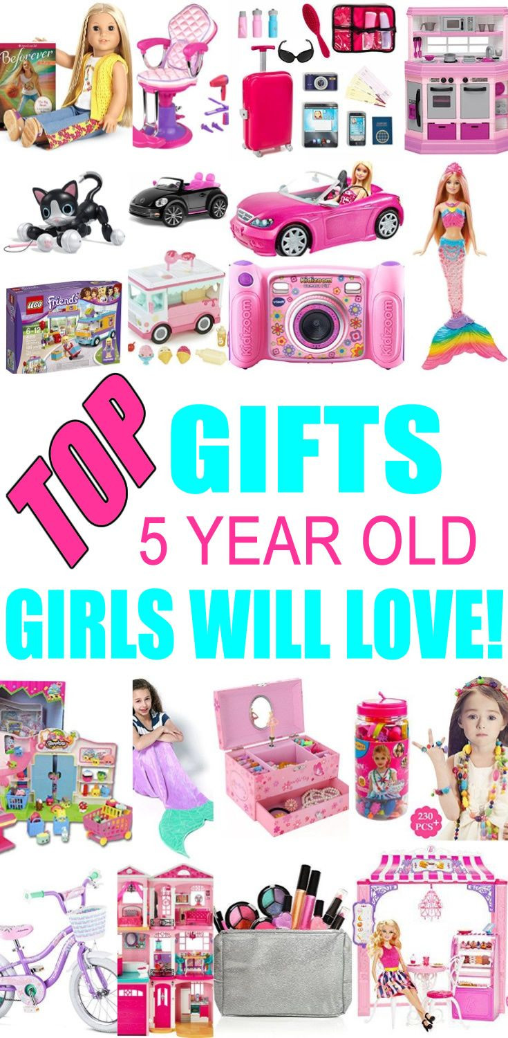Best ideas about Birthday Gifts For 5 Yr Old Girl . Save or Pin Top Gifts for 5 Year Old Girls Want Now.