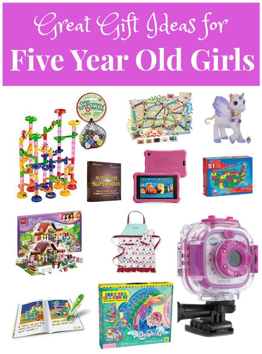 Best ideas about Birthday Gifts For 5 Yr Old Girl . Save or Pin Great Gifts for Five Year Old Girls Now.