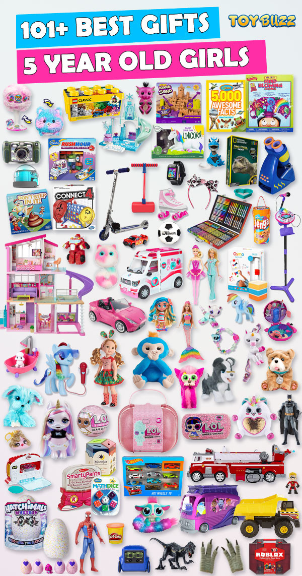 Best ideas about Birthday Gifts For 5 Yr Old Girl . Save or Pin Best Gifts and Toys for 5 Year Old Girls 2018 Now.
