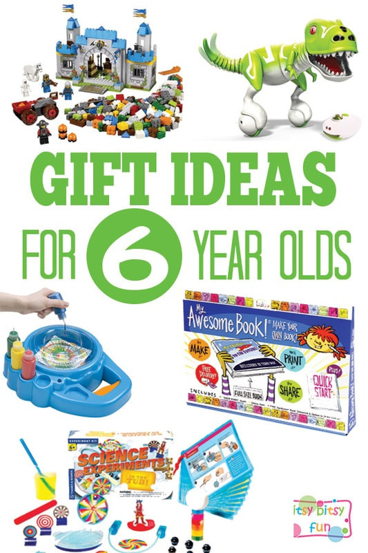Best ideas about Birthday Gifts For 6 Year Old Girl . Save or Pin Gifts for 6 Year Olds Itsy Bitsy Fun Now.