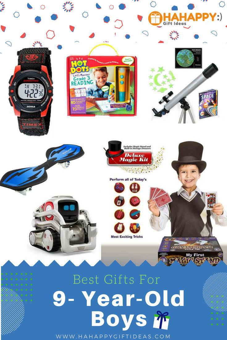 Best ideas about Birthday Gifts For 9 Yr Old Boy. Save or Pin Best Gifts For A 9 Year Old Boy Educational & Fun Now.
