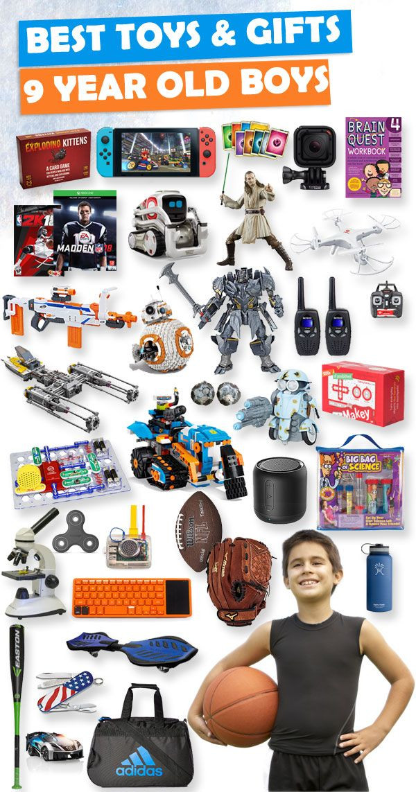 Best ideas about Birthday Gifts For 9 Yr Old Boy. Save or Pin Best Toys and Gifts for 9 Year Old Boys 2018 Now.