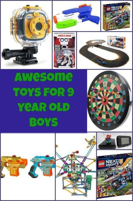 Best ideas about Birthday Gifts For 9 Yr Old Boy. Save or Pin 9 year Old Boys Now.