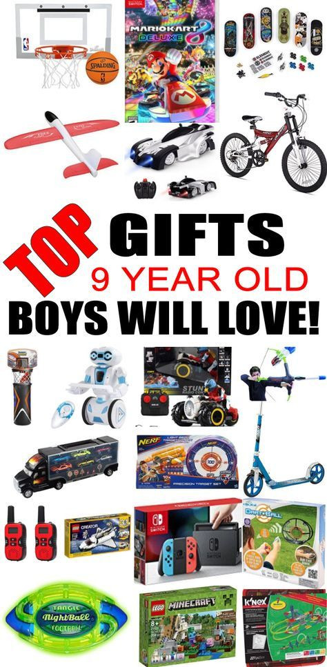 Best ideas about Birthday Gifts For 9 Yr Old Boy. Save or Pin Best Gifts 9 Year Old Boys Will Love Gifts Now.