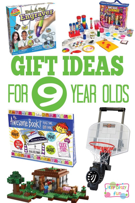 Best ideas about Birthday Gifts For 9 Yr Old Boy. Save or Pin Gifts for 9 Year Olds Itsy Bitsy Fun Now.