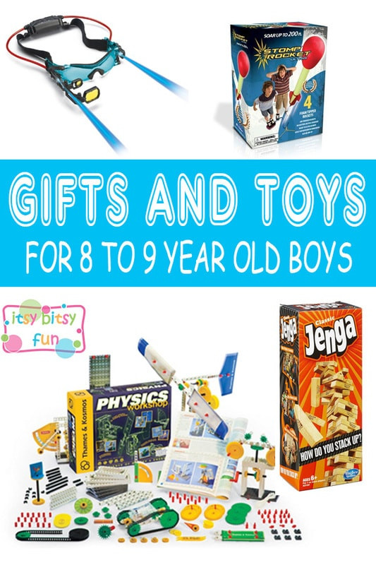 Best ideas about Birthday Gifts For 9 Yr Old Boy. Save or Pin Best Gifts for 8 Year Old Boys in 2017 Itsy Bitsy Fun Now.