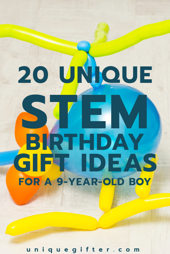 Best ideas about Birthday Gifts For 9 Yr Old Boy. Save or Pin 20 STEM Birthday Gift Ideas for a 9 Year Old Boy Unique Now.