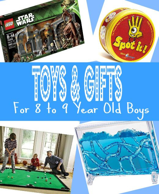 Best ideas about Birthday Gifts For 9 Yr Old Boy. Save or Pin Best Gifts for 8 Year Old Boys in 2017 Now.
