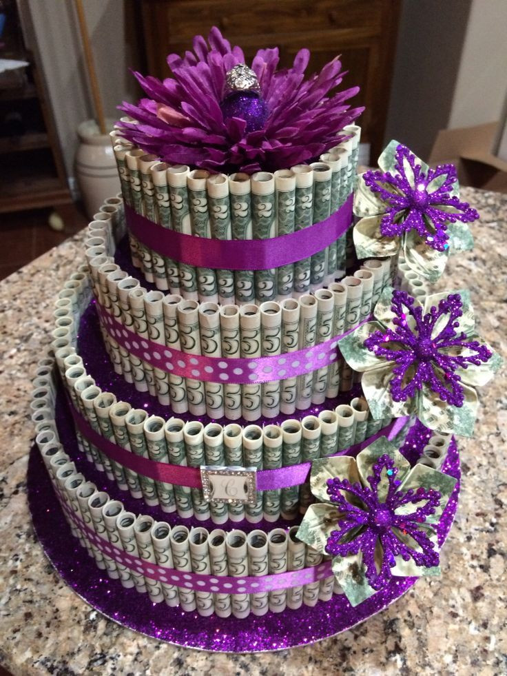 Best ideas about Birthday Gifts For Her Ideas . Save or Pin Pin by Rhonda Butler on money cake Now.