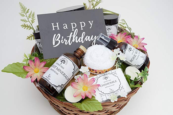 Best ideas about Birthday Gifts For Her Ideas . Save or Pin Birthday Gift Baskets For Her Ideas Now.