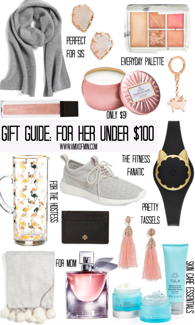 Best ideas about Birthday Gifts For Her Ideas . Save or Pin Gift Guide For Her Under $100 Now.