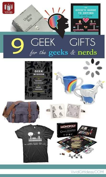 Best ideas about Birthday Gifts For Him 2015 . Save or Pin 9 Cool Gifts for Geeky Guys Vivid s Now.