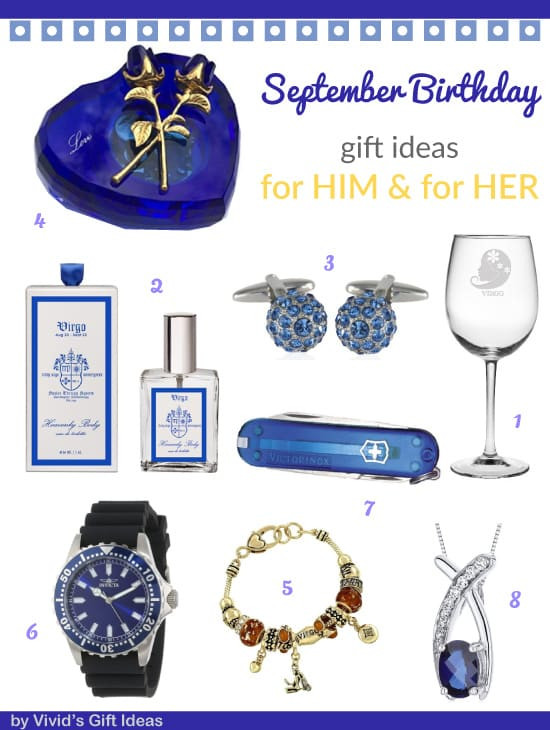 Best ideas about Birthday Gifts For Him 2015 . Save or Pin Best Gift Ideas for September Birthday Vivid s Gift Ideas Now.