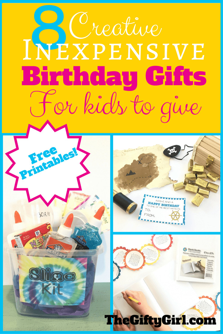 Best ideas about Birthday Gifts For Kids . Save or Pin 8 Creative Inexpensive birthday ts for kids to give Now.