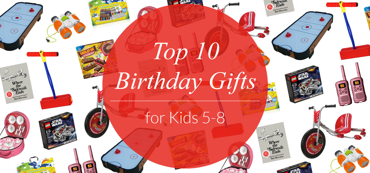 Best ideas about Birthday Gifts For Kids . Save or Pin Top 10 Birthday Gifts for Kids Ages 5 8 Evite Now.