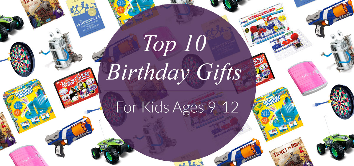 Best ideas about Birthday Gifts For Kids . Save or Pin Top 10 Birthday Gifts for Kids Ages 9 12 Evite Now.
