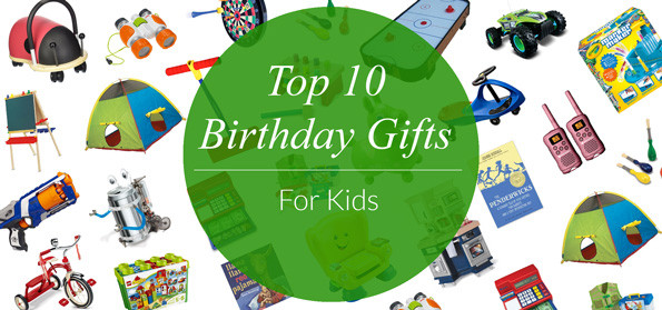 Best ideas about Birthday Gifts For Kids . Save or Pin Top 10 Birthday Gifts for Kids Evite Now.