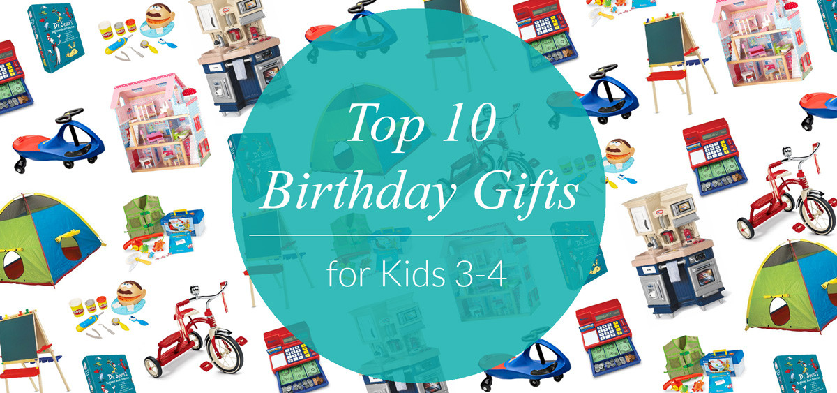 Best ideas about Birthday Gifts For Kids . Save or Pin Top 10 Birthday Gifts for Kids Ages 3 4 Evite Now.