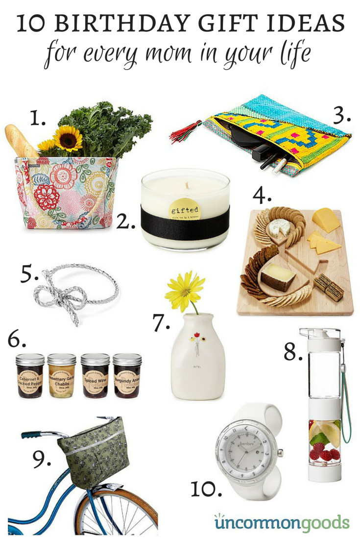 Best ideas about Birthday Gifts For Mom . Save or Pin 10 Birthday ts for moms from Un monGoods Savvy Now.