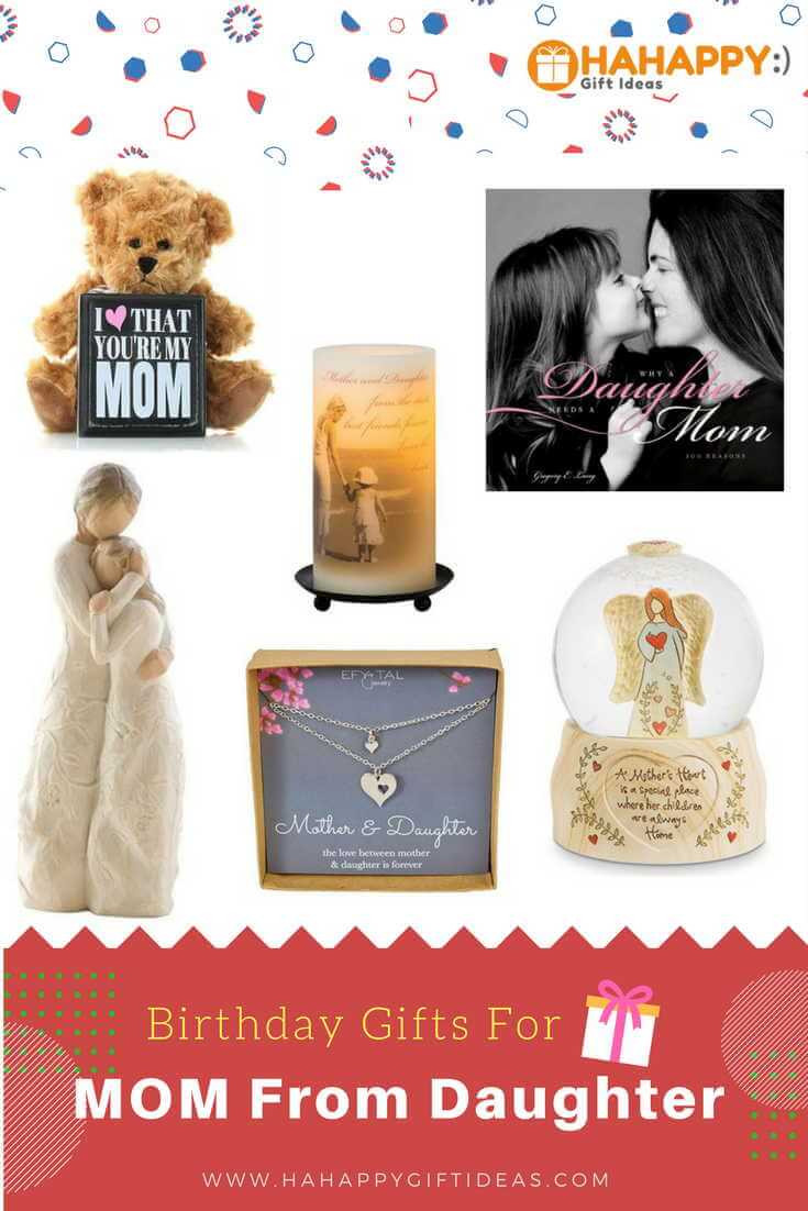 Best ideas about Birthday Gifts For Mother . Save or Pin 23 Birthday Gift Ideas For Mom From Daughter Now.