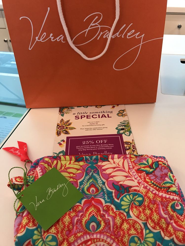 Best ideas about Birthday Gifts From Stores . Save or Pin Birthday t from Vera bradley Yelp Now.
