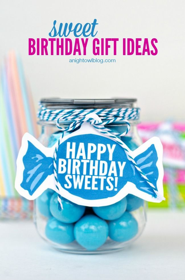 Best ideas about Birthday Gifts From Stores . Save or Pin Sweet Birthday Gift Ideas Now.