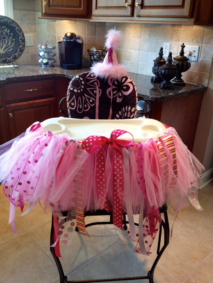 Best ideas about Birthday Girl Decorations . Save or Pin Birthday Girl Highchair decoration Now.