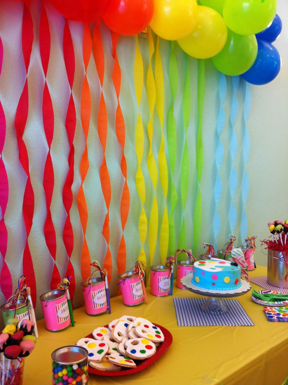 Best ideas about Birthday Girl Decorations . Save or Pin So Perf Birthday Party for an 8 year old girl Rocker Now.