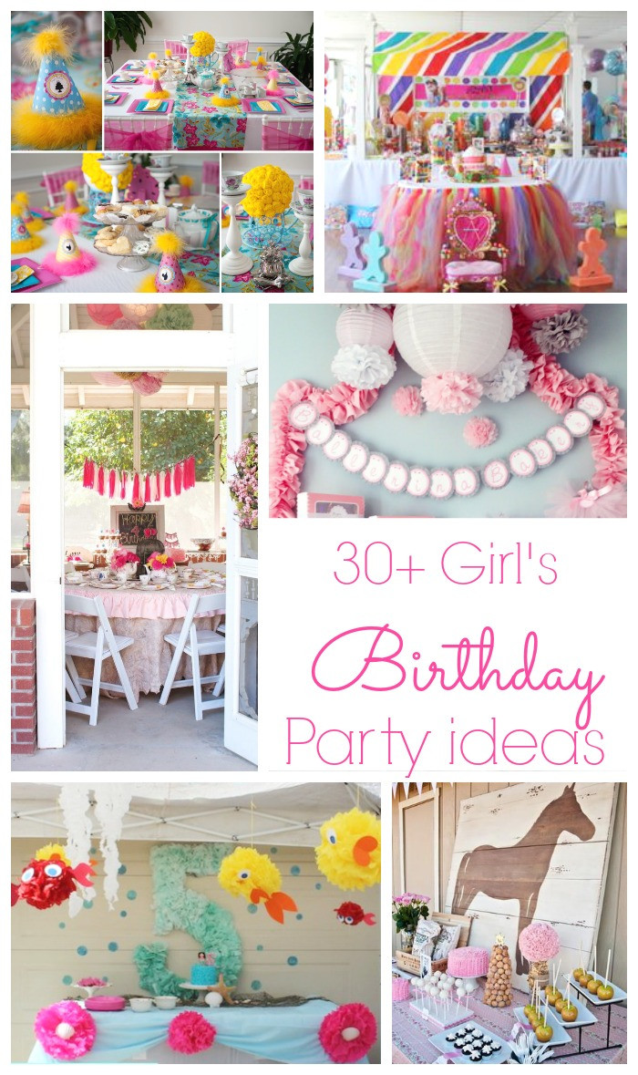 Best ideas about Birthday Girl Decorations . Save or Pin 30 Girls Birthday Party Ideas Now.