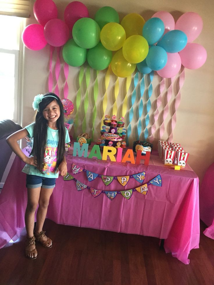 Best ideas about Birthday Girl Decorations . Save or Pin shopkins party ideas Google Search Now.