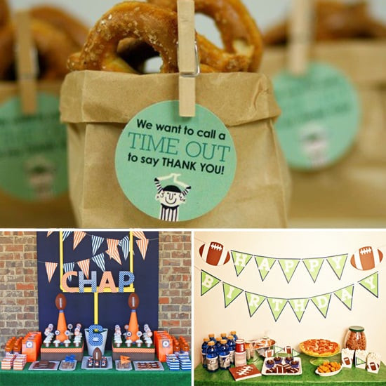Best ideas about Birthday Ideas For Boys . Save or Pin Football Themed Birthday Party Ideas For Boys Now.