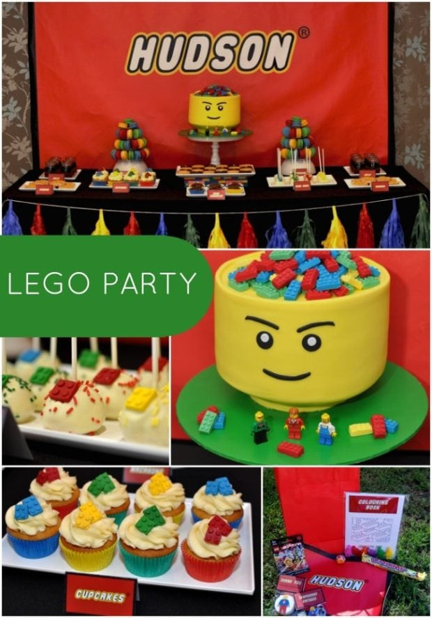 Best ideas about Birthday Ideas For Boys . Save or Pin Boy s Lego Themed 5th Birthday Party Now.