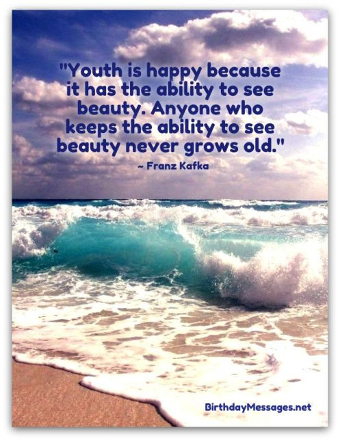 Best ideas about Birthday Inspirational Quotes . Save or Pin Inspirational Birthday Quotes Famous Birthday Messages Now.
