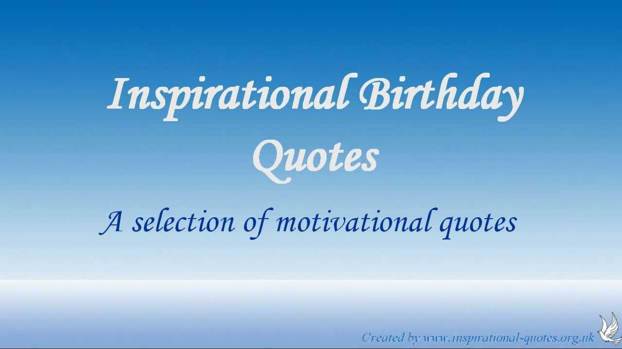 Best ideas about Birthday Inspirational Quotes . Save or Pin Inspirational Birthday Quotes For Women QuotesGram Now.