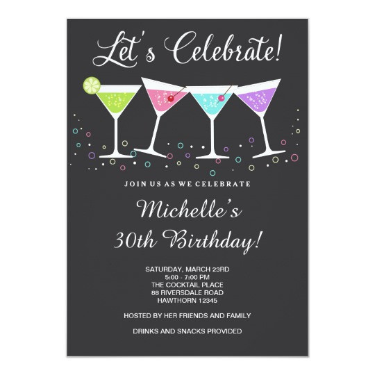 Best ideas about Birthday Invitations For Adults . Save or Pin 30th Birthday Invitation Adult Birthday Invite Now.