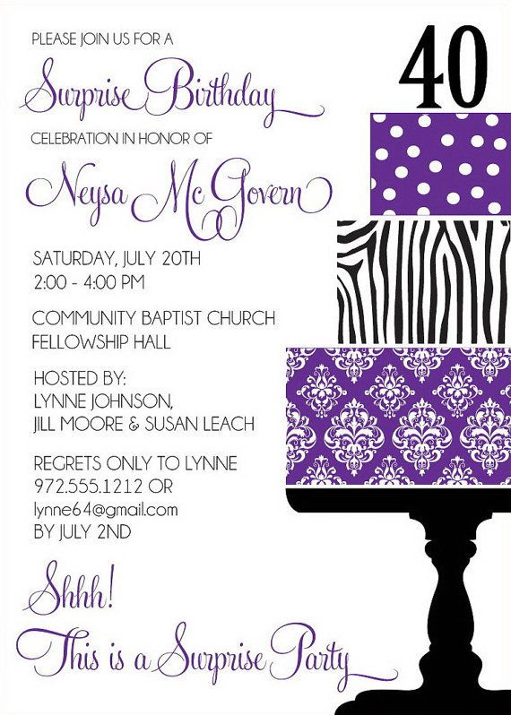 Best ideas about Birthday Invitations For Adults . Save or Pin Birthday Invitations Wording for Adult Now.