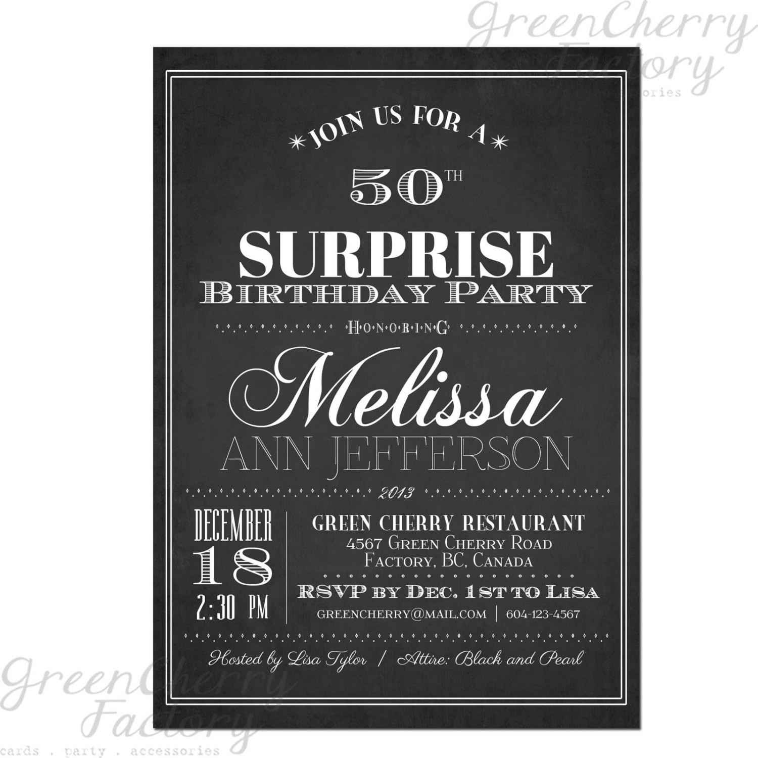 Best ideas about Birthday Invitations For Adults . Save or Pin Items similar to Typography Adult Surprise Birthday Now.