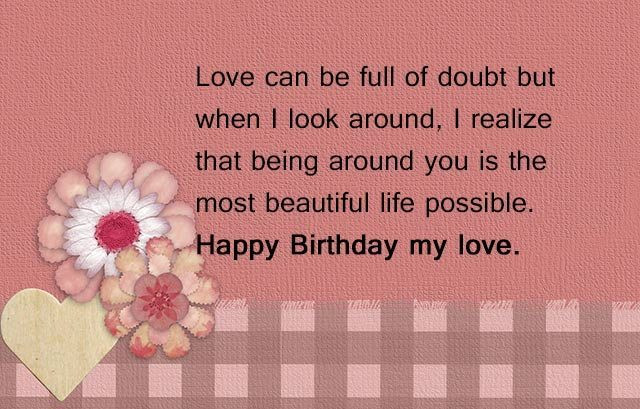 Best ideas about Birthday Love Quotes For Him . Save or Pin 182 Exclusive Happy Birthday Boyfriend Wishes & Quotes Now.