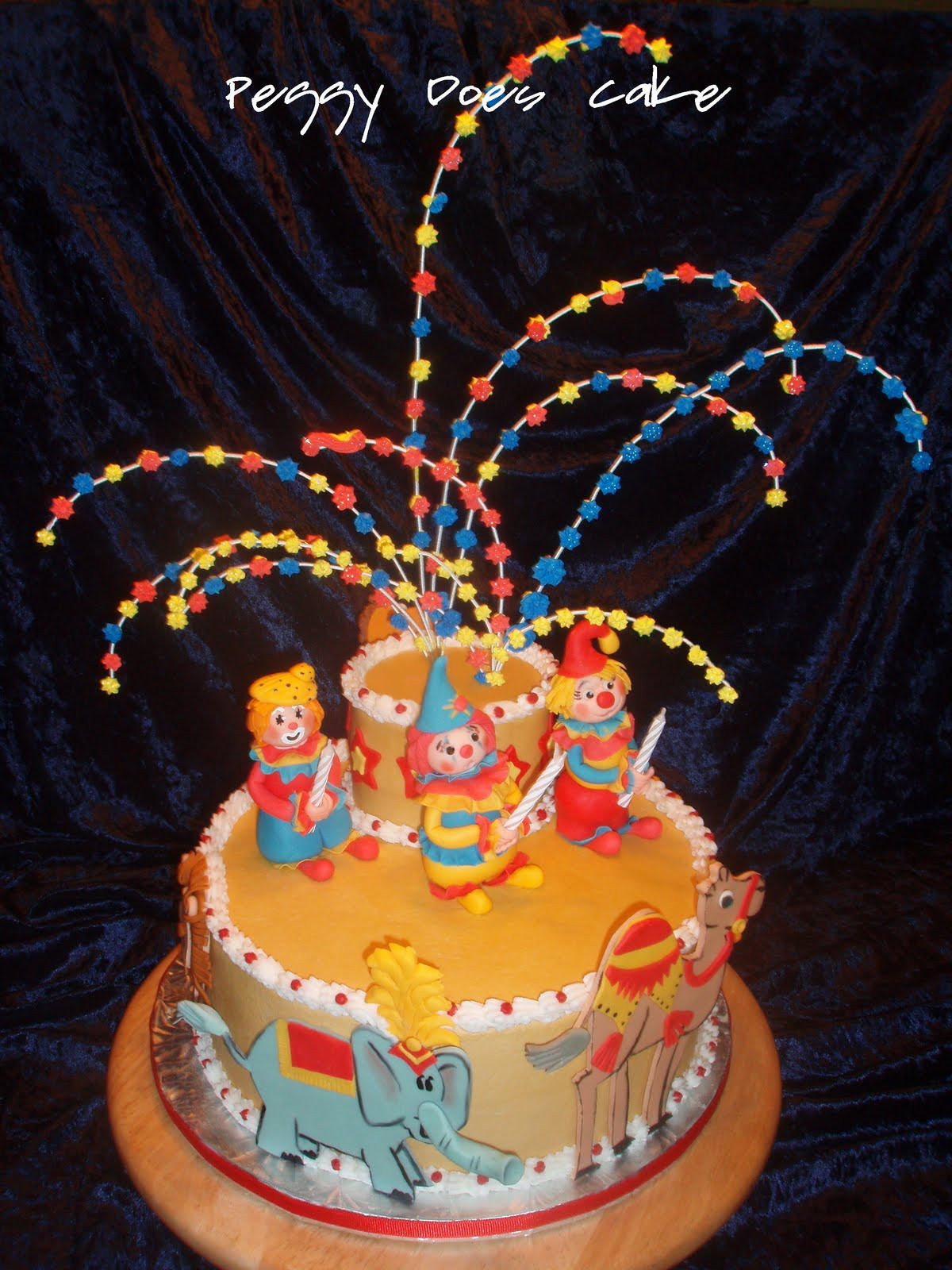 Best ideas about Birthday Party Cake . Save or Pin Peggy Does Cake Rett s Circus Birthday Cake any Now.