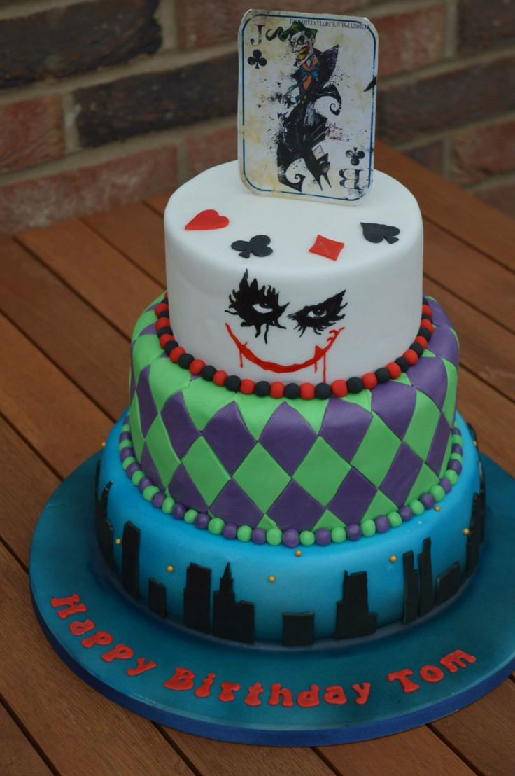 Best ideas about Birthday Party Cake . Save or Pin 25 best ideas about Joker Cake on Pinterest Now.