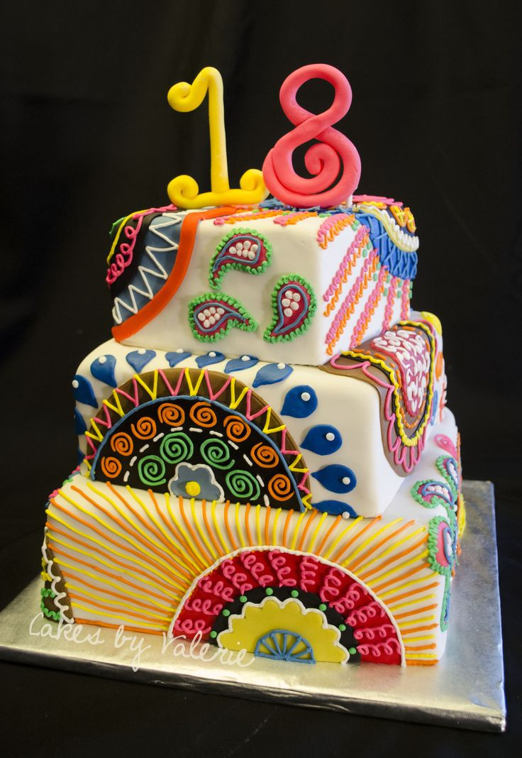 Best ideas about Birthday Party Cake . Save or Pin Birthday Cakes 8 10 12 inch square cakes covered in Now.
