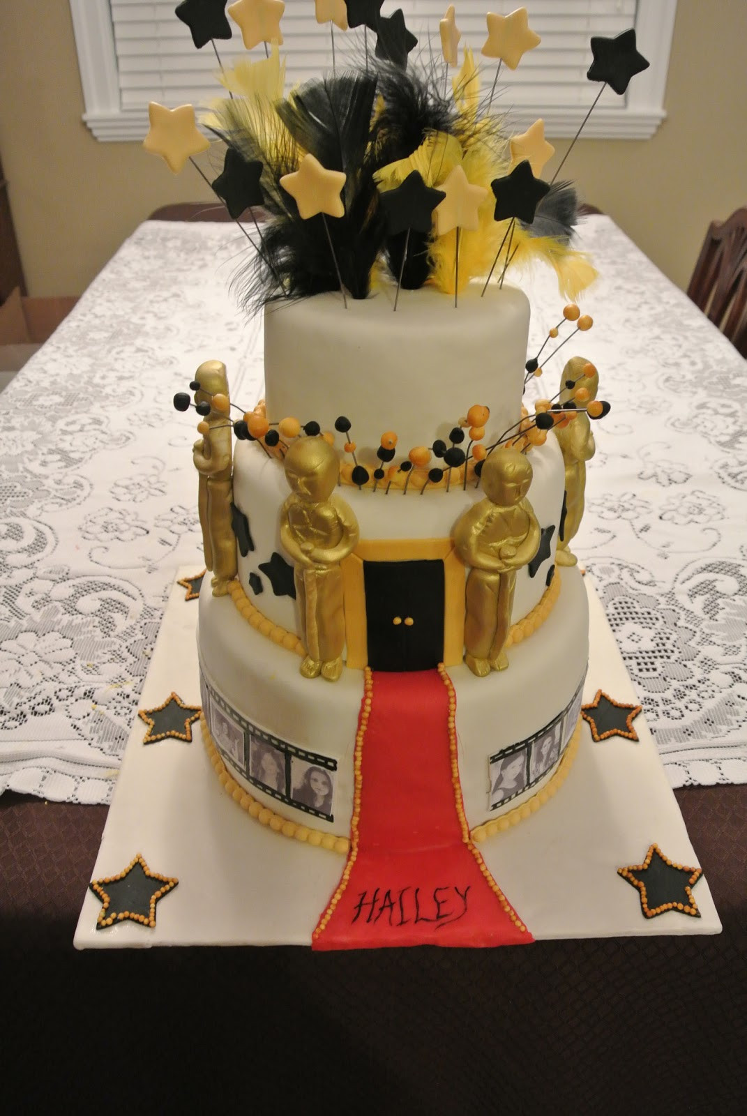 Best ideas about Birthday Party Cake . Save or Pin Larry the Cake Guy Oscar Themed Birthday Cake Now.