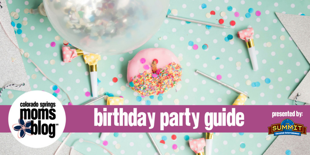 Best ideas about Birthday Party Colorado Springs . Save or Pin The Colorado Springs Birthday Party Guide Now.